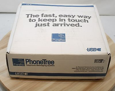 PhoneTree PT-400 PhoneTree 2000 USB Auto Dialer Telephone System Equipment