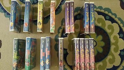 Rare Disney Black Diamond Vhs Lot Of Movies