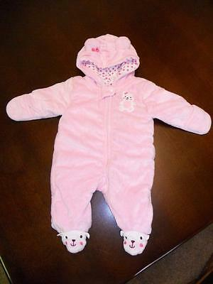 Carter's Child of Mine Baby Girl One Piece Outerwear ~ Size 0-3M