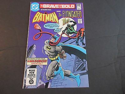 The Brave and the Bold #177 (Aug 1981, DC) The Elongated Man! High Grade!