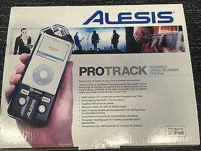 Alesis Pro Track handheld stereo recorder for iPod