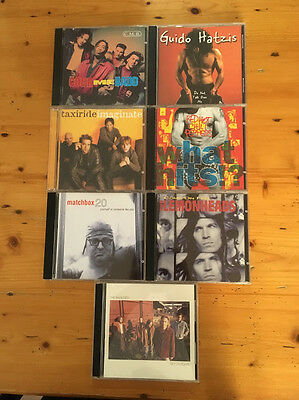 Bulk lot of 7 CDs Various Male Artists Groups