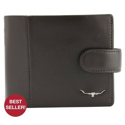 RM Williams Mens Wallet & Coin Purse - CG256 - RRP 124.99 - FREE EXPRESS POST