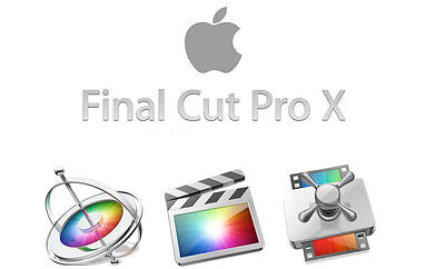 Final Cut Pro X 10.3.1 Motion & Compressor - ONLY GENUINE LISTING!!