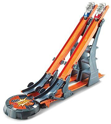 Hot Wheels Versus Track Set Playset By Phonograph Toy Play Creative New