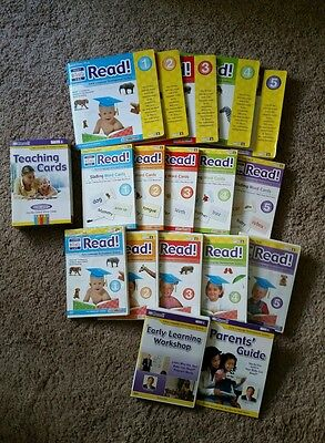 Your Baby Can Read! books and word cards