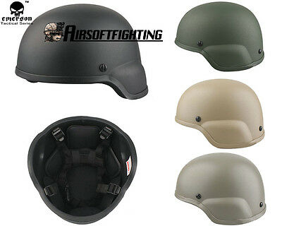 EMERSON ACH MICH 2000 Helmet Airsoft Tactical Military Helmet Paintball Hunting