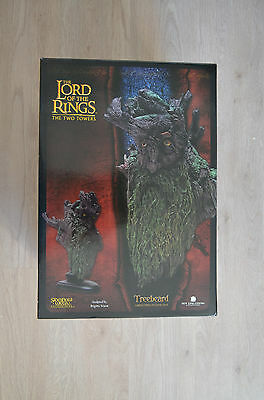 Bust Treebeard Sylvebarbe lord of the rings