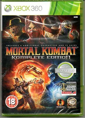 Mortal Kombat KOMPLETE 9  Game of the Year  'New & Sealed' *XBOX 360*
