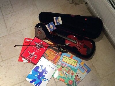 Stentor Student II 3/4 size violin including extras