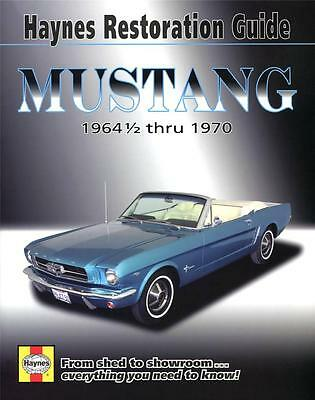 FORD MUSTANG RESTORATION BOOK PONY CAR GT Haynes Owners Manual Service Handbook