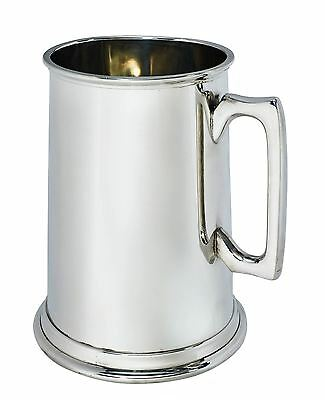 3 Pint Plain Pewter Tankard with Free Engraving