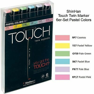 ShinHan Touch Twin Marker Pastel Colors