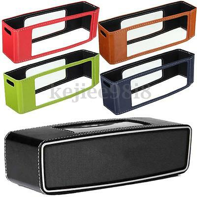 Leather Case Cover Sleeve Bag Pouch Skin For SoundLink Mini 2 II Mini Speaker UK