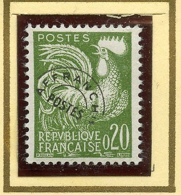 Stamp / Timbre France Preoblitere Neuf N° 120 ** Type Coq