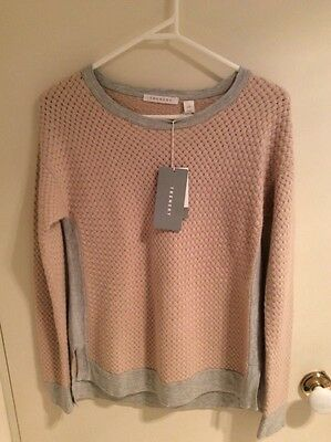 RRP$149 Trenery (Country Road) Honeycomb Knit Jumper, Size XS