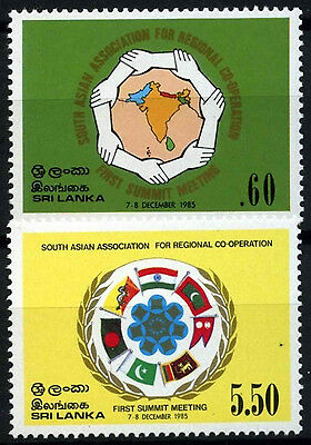 Sri-Lanka 1985 SG#922-3 Regional Co-Operation MH Set #D41425