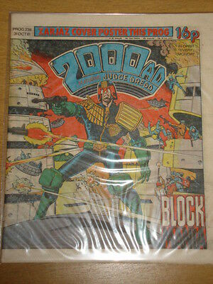 2000Ad #236 British Weekly Comic Judge Dredd Oct 1981 *