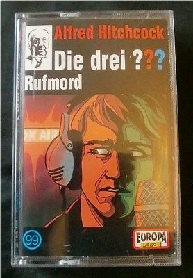 ALFRED HITCHCOCK Die drei ??? Rufmord, Folge 99, MC, 2001