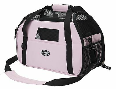 Pet Carrier for Dogs & Cats Comfort Airline Approved Travel Tote Soft Sided B...