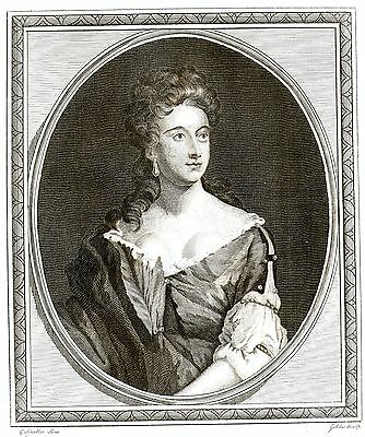 Isabella FitzRoy (The Duchess of Grafton) British Peer - After G. Kneller - 1787