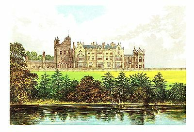 Worsley Hall, Near Manchester, Lancashire - Seat of the Earl of Ellesmere  c1865
