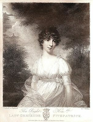 Lady Gertrude Fitzpatrick (Daughter of Earl of Ossory) By Charles Wilkin 1880