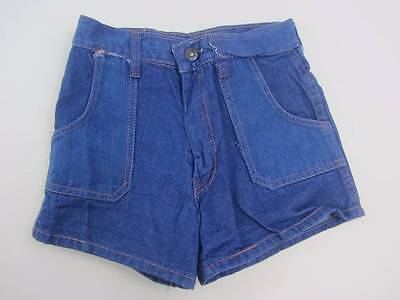 childrens vintage denim shorts hotpants festival summer ages 8-13