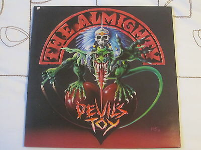 The Almighty - Devils Toy gatefold