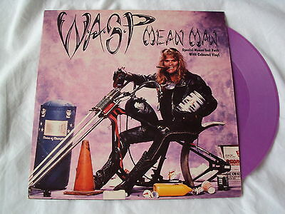 WASP - Mean Man Purple Vinyl
