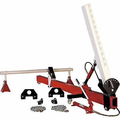 Sealey Straightener Kit 10t Variable Upright with Hydraulics
