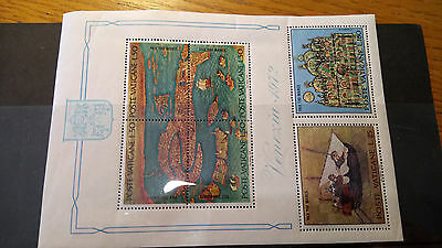 4th group of mint Vatican Stamps. 7 stockcards Poste Vaticane. Pope. Papal.
