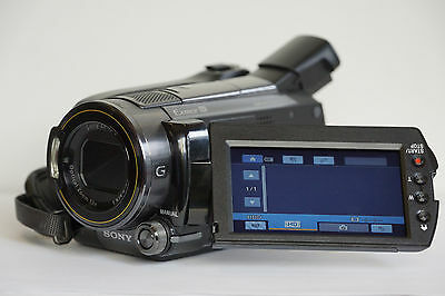 "Sony HDR-XR500VE Full HD-AVCHD Handycam Camcorder 120 GB , 12 Megapixel ""TOP"""