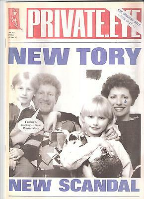Private Eye Mag # 915 10 January 1997 Jerry Hayes MP Conservative Harlow cover