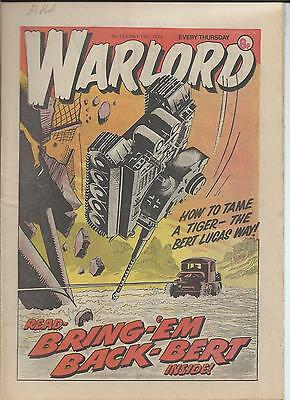 Warlord Comic number 243 , May 19th 1979