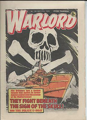 Warlord Comic number 192  May 27th 1978