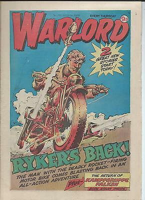Warlord Comic number 252  July 21st 1979