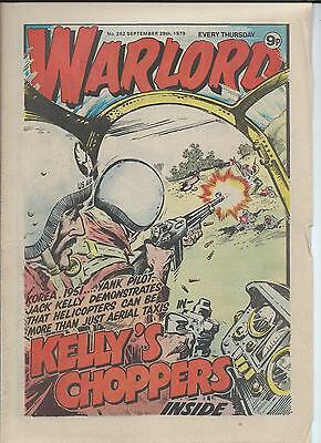 Warlord Comic number 262 September 29th 1979