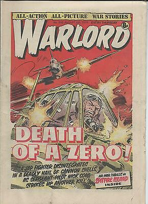Warlord Comic number 202  August 5th 1978