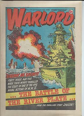 Warlord Comic number 273  December 15th 1979