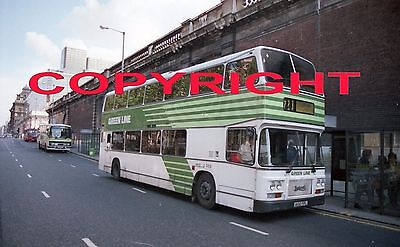 Bus Negative/copyright - London Country Green Line Leyland Olympian A102Fpl