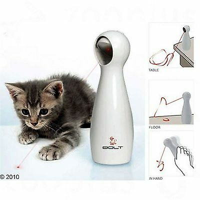 FroliCat Bolt Cat Interactive Laser Toy Cats Pet Kitten Toys Play Activity Fun