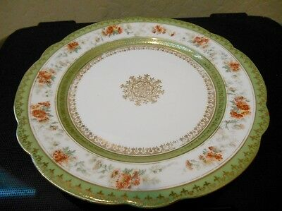 Antique Imperial Crown China  Austria Plate