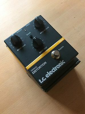 TC Electronic Vintage Distortion (Trex Mudhoney) Guitar Overdrive Fuzz Pedal
