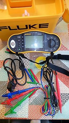 Fluke Multifunction 1653 Tester 17th Edition Excellent Condition