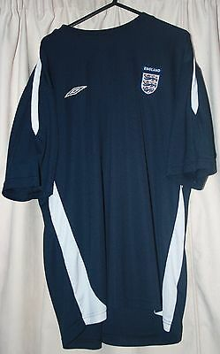 England Umbro Training T Shirt, Size Xl
