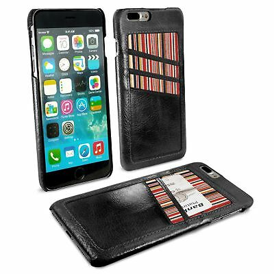Alston Craig Genuine Leather Shell & Card Holder for iPhone 7