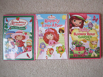 Strawberry Shortcake Bloomin Berry Garden, Berry Merry xmas, Happily Ever After