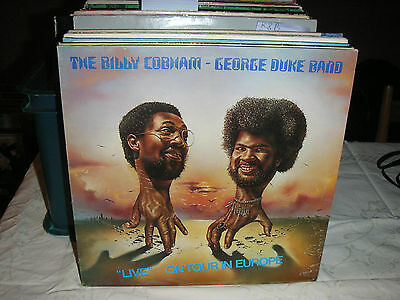 The BILLY COBHAM - GEORGE DUKE BAND *'Live * LP *