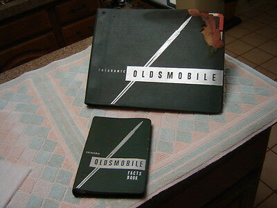 1950 Oldsmobile Facts Book   -AND-  Feature Folio Showroom Dealer Albums pair